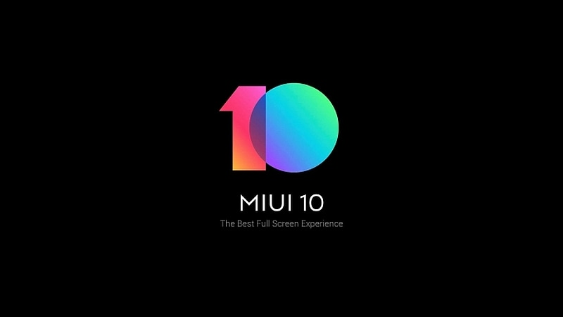 MIUI 10 With AI Portrait Mode New Recents Widget and More Unveiled