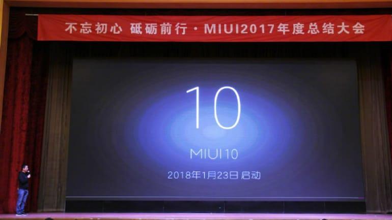 Xiaomi ने किया MIUI 10 का ऐलान, एआई और मशीन लर्निंग पर होगा ज़ोर
