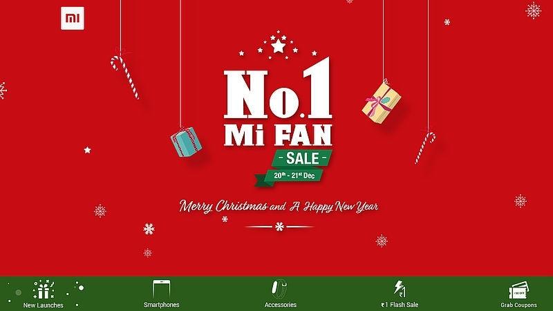 Xiaomi Mi A1 Discount, Re. 1 Flash Sales Continue on Day 2 of No.1 Mi Fan Sale