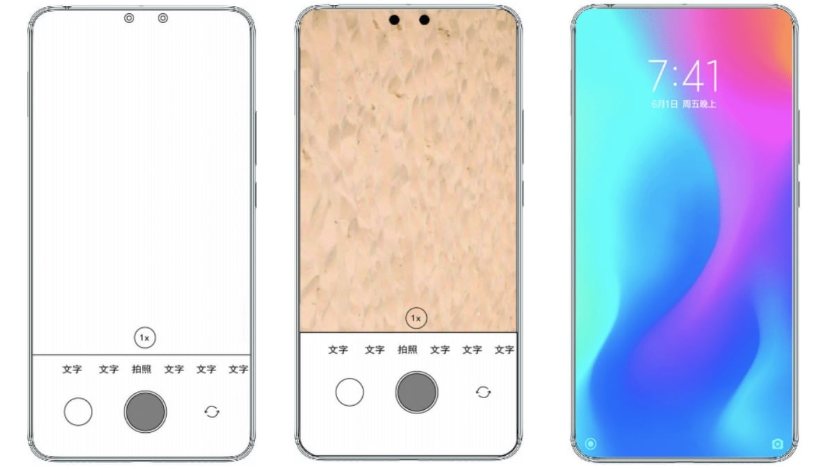 Xiaomi Patent Application Reveals Phone With Dual Under-Display Selfie Cameras: Report
