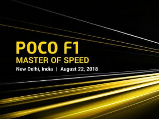 Xiaomi Poco F1 Launch on Wednesday: Here's Everything We Know So Far
