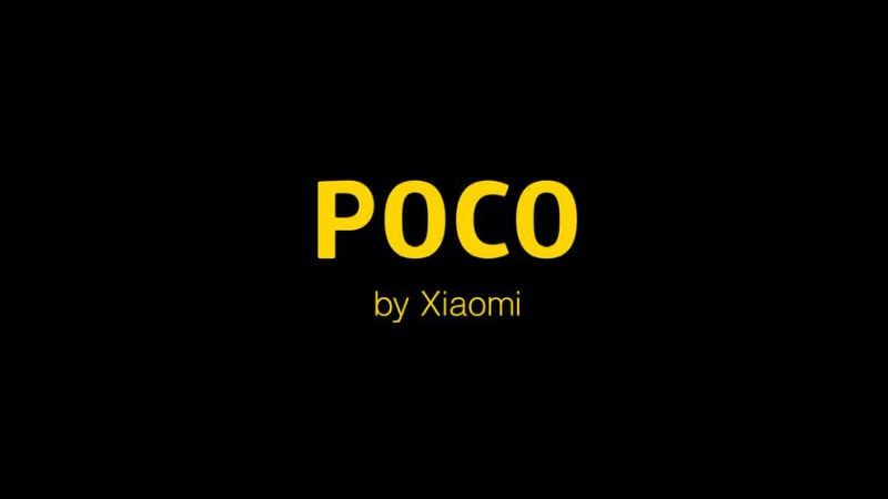 Xiaomi Poco Sub-Brand Announced, Pocophone Focus on Speed and India Launch Hinted At