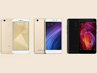 Xiaomi Redmi 4, Redmi 4A, Redmi Note 4 Pre-Orders on Mi.com Today, Amazon to Hold Redmi 4 Sale