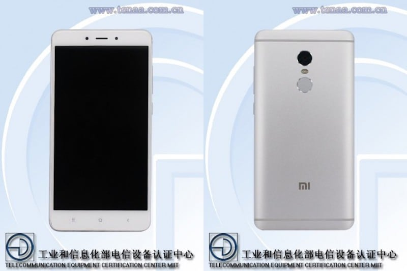 Redmi Note 4X has been tipped to come with 64GB internal storage