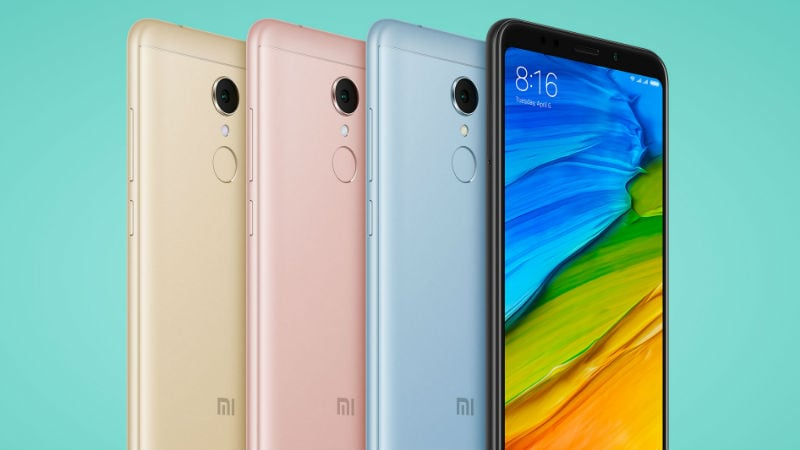 Redmi 5 First Flash Sale in India at 12pm; Mi TV 4A, Mi TV 4 Up for Grabs as Well
