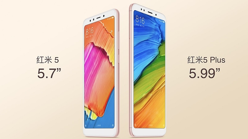 Redmi 5 Plus With 18:9 Displays-Selfie Light Launched: Price-Speci 2018