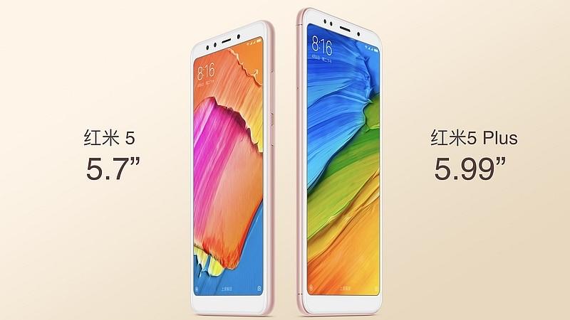 Xiaomi Redmi 5 और Redmi 5 Plus लॉन्च, जानें सारी खूबियां