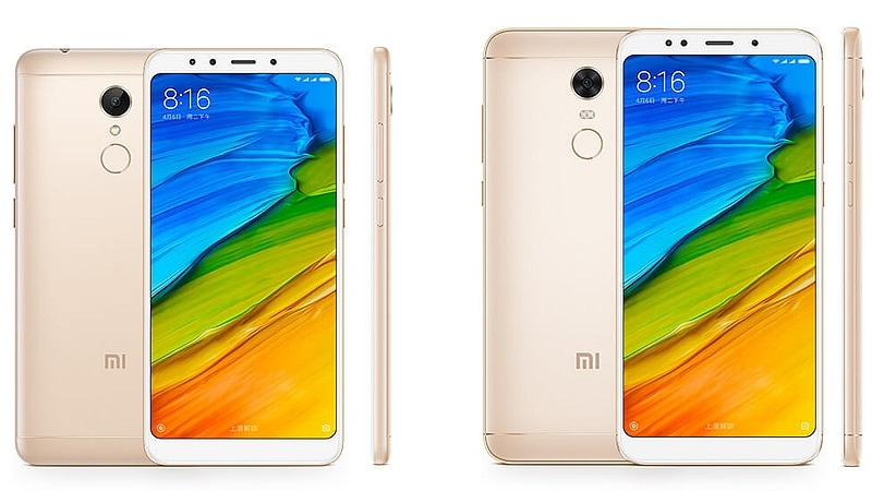 Redmi 5, Redmi 5 Plus With Bezel-Less Design, Large Battery Launched: Price, Specifications, and More