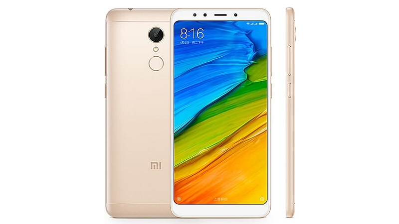 Redmi 5 With 5.7-Inch Display, 3300mAh Battery Launched at Starting Price of Rs. 7,999