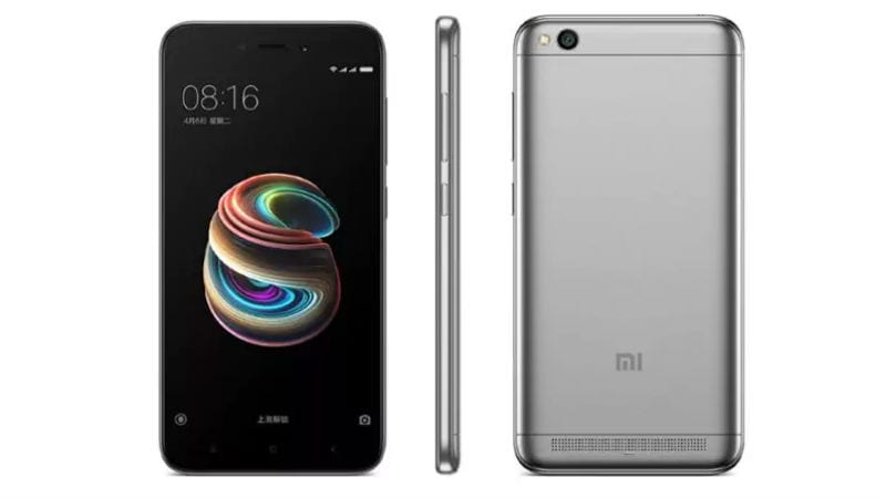 Xiaomi Redmi 5A Pre-Order Sale Today via Mi.com: Sale Time, Price, Specifications, and More