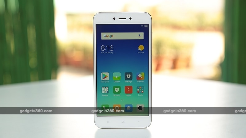 Xiaomi Redmi 5A Available for an Effective Price of Rs. 4,000 in Big Bazaar's Republic Day Sale