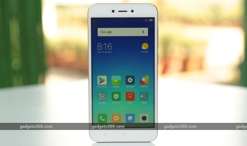 Redmi 5A to Be Available Today in India via Flipkart, Mi.com Flash Sales