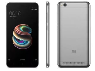 Xiaomi Redmi 5A to Be Available Today via Flash Sales on Flipkart, Mi.com