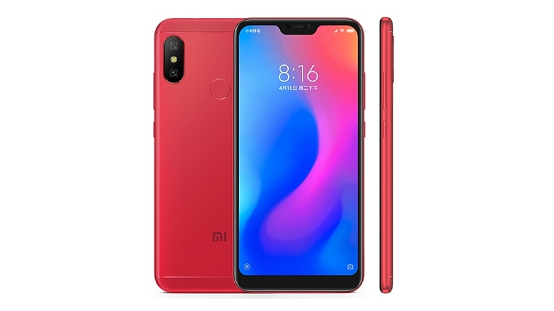 Redmi 6 Pro With 4000mAh Battery, 19:9 Display, Dual Rear Cameras