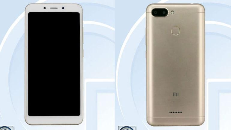 Xiaomi Redmi 6 के स्पेसिफिकेशन लीक, तस्वीरों की भी मिली झलक