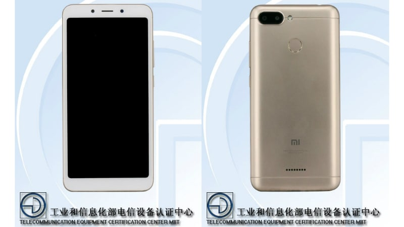 Redmi 6A Leaked in 3 Variants on the TENAA Certification Site, Specifications and Images Revealed