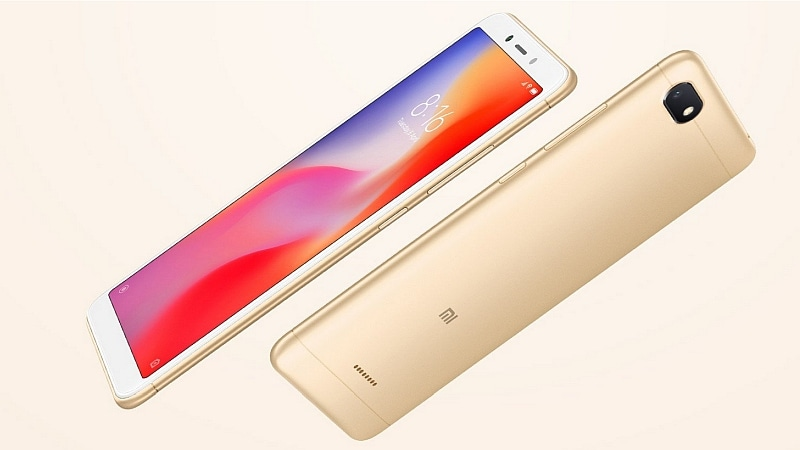 Xiaomi Redmi 6A to Go on Sale in India Today, via Amazon and Mi.com