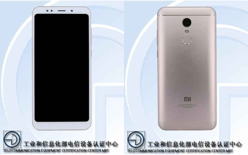 Redmi Note 5 specifications revealed through TENAA certification