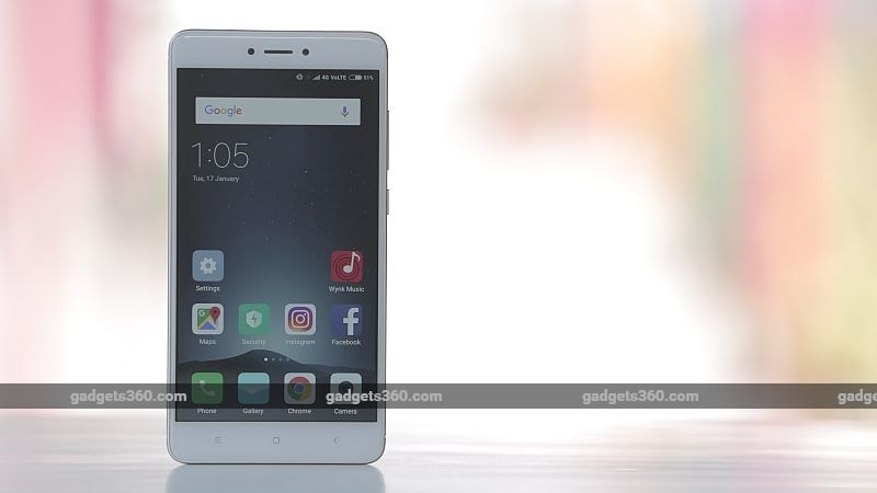 Xiaomi Redmi Note 4 Highest Shipped Smartphone in India, Says IDC