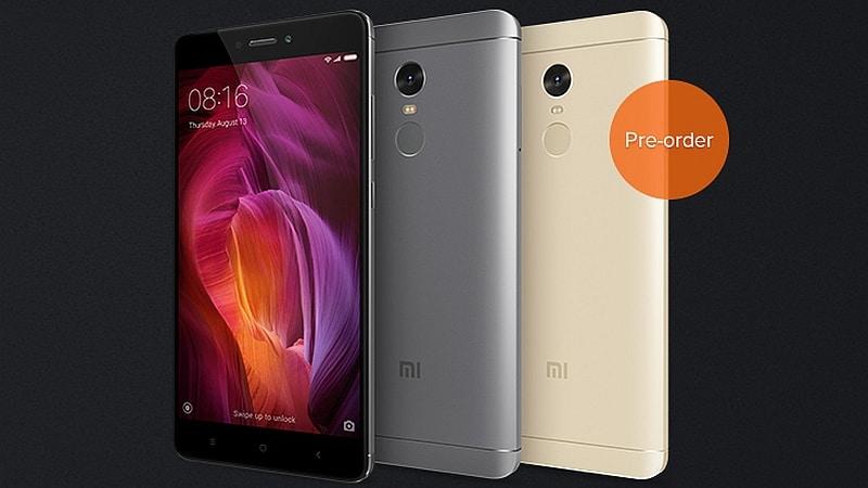Xiaomi Redmi Note 4 Pre-Orders in India Begin Today