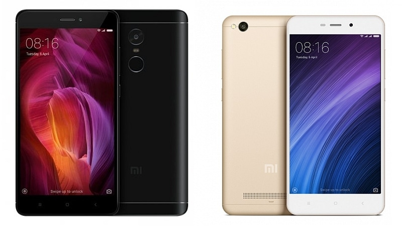 Xiaomi Redmi Note 4, Redmi 4A to Be Available for Pre Orders in India Today