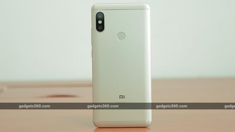 xiaomi redmi note 5 pro back gadgets 360 xiaomi