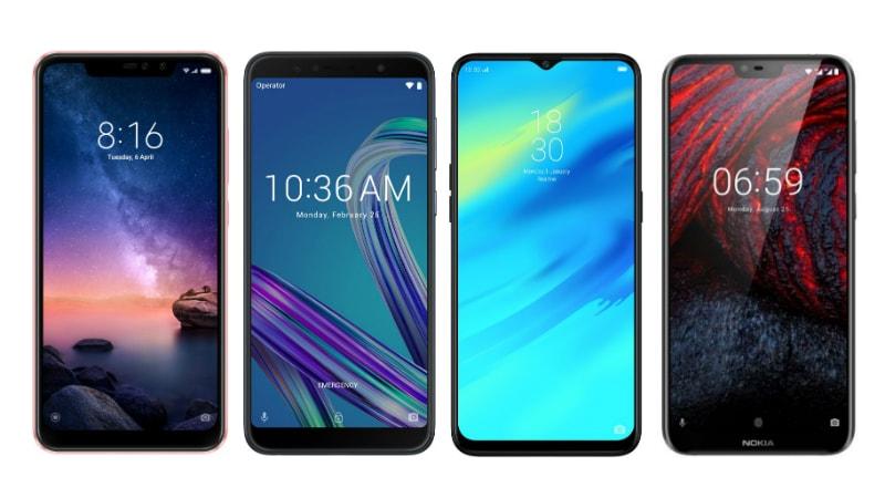 Xiaomi Redmi Note 6 Pro, Realme 2 Pro, Nokia 6.1 Plus और Asus ZenFone Max Pro M1 में कौन बेहतर?