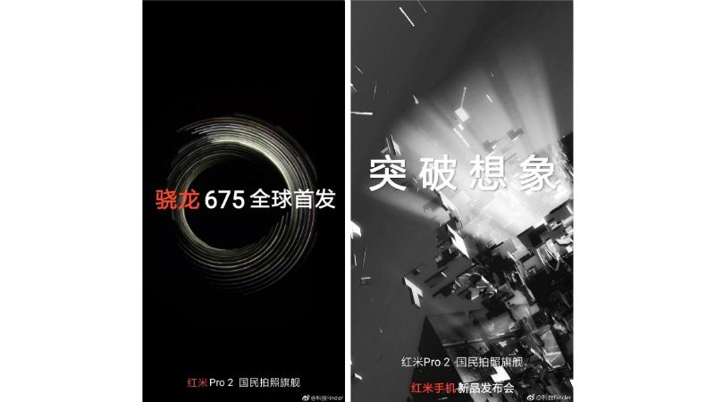 xiaomi redmi pro 2 purported teasers weibo Xiaomi Redmi Pro 2