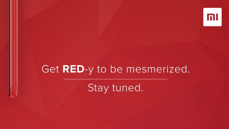 Xiaomi Redmi Note 5 Pro Flame Red Colour Variant India Launch Expected on Tuesday