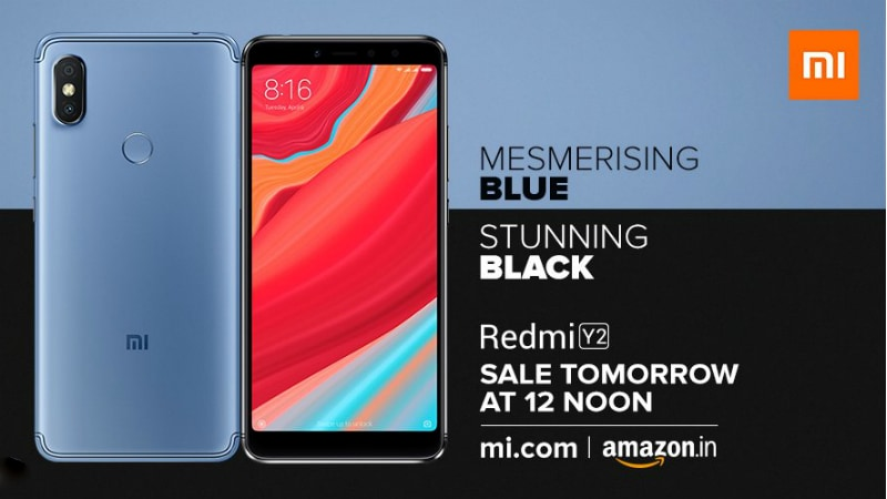Redmi Y2 Mesmerising Blue, Stunning Black Colour Options to Go on Sale in India Today