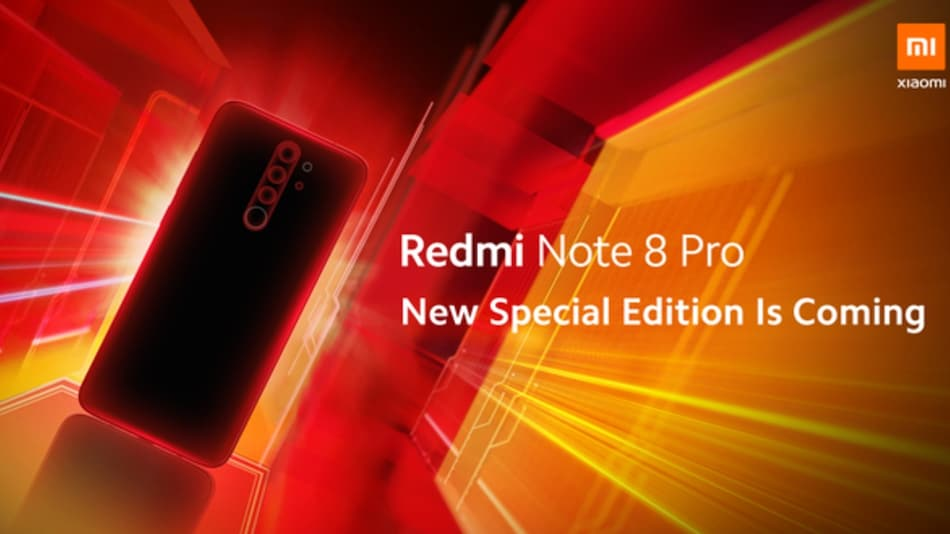 Redmi Note 8 Pro Special Edition Teased by Xiaomi, May Carry an Orange Hue