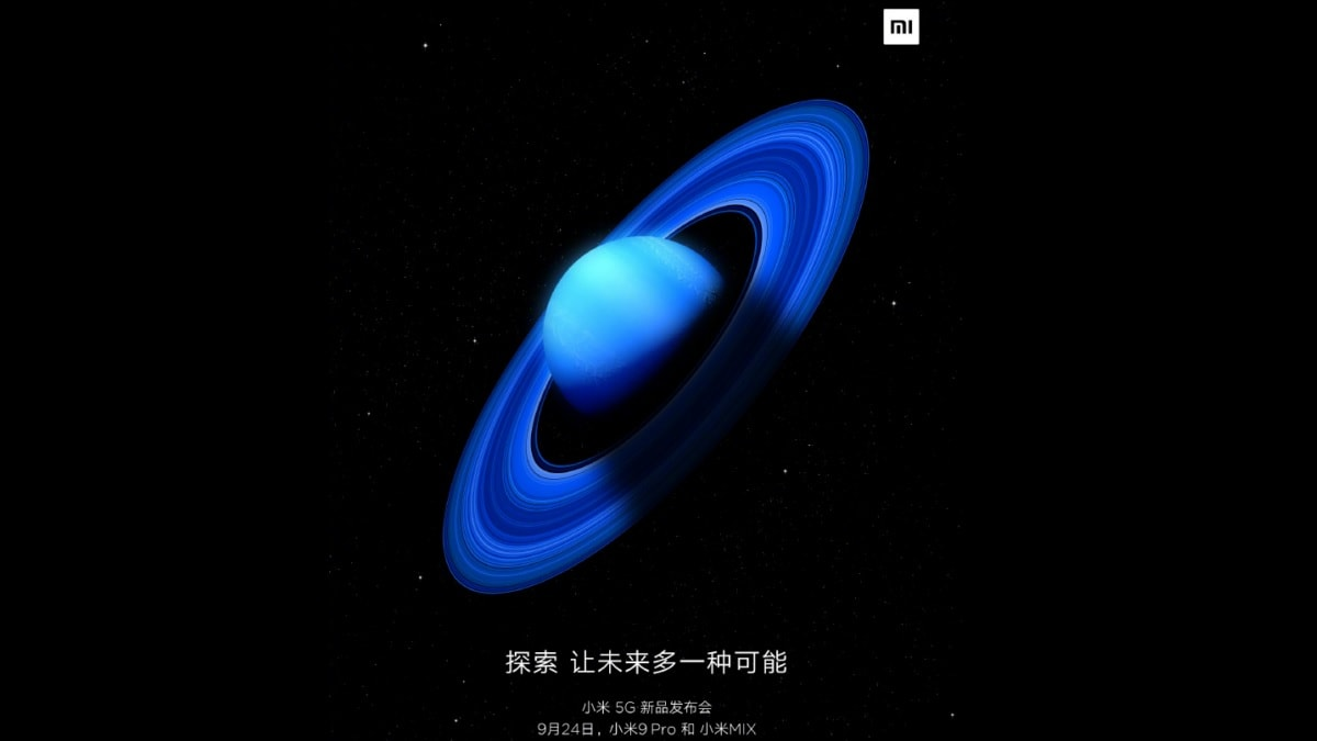 Xiaomi Mi 9 Pro 5G With 30W Wireless Charging Support, Mi Mix 5G Set to Launch on September 24