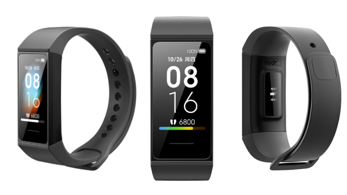 Mi Smart Band 4C Tracker With Heart-Rate Monitor, Colour Display ...