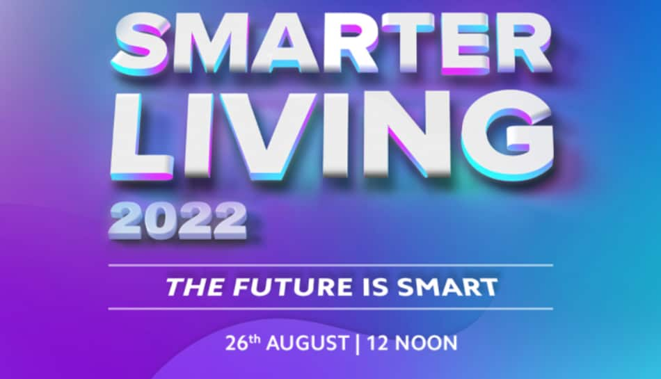 Xiaomi Smarter Living 2022 India Event on August 26, New Mi Notebook and Mi TVs Expected