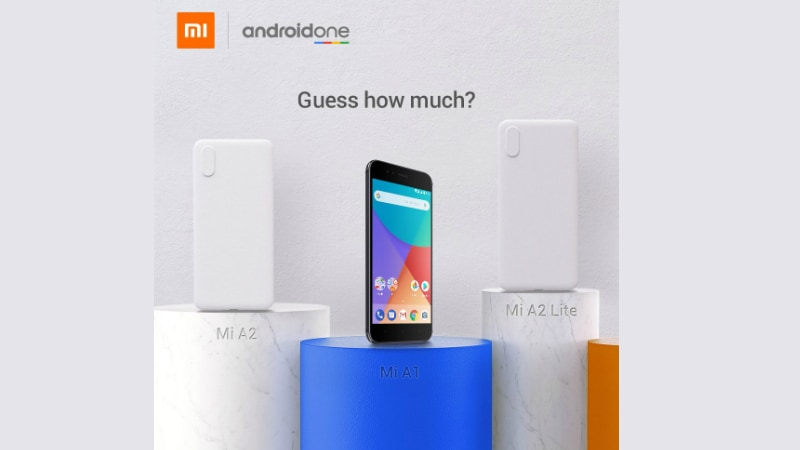 Xiaomi Mi A2, Mi A2 Lite Colours, Camera Details Teased Ahead of Launch