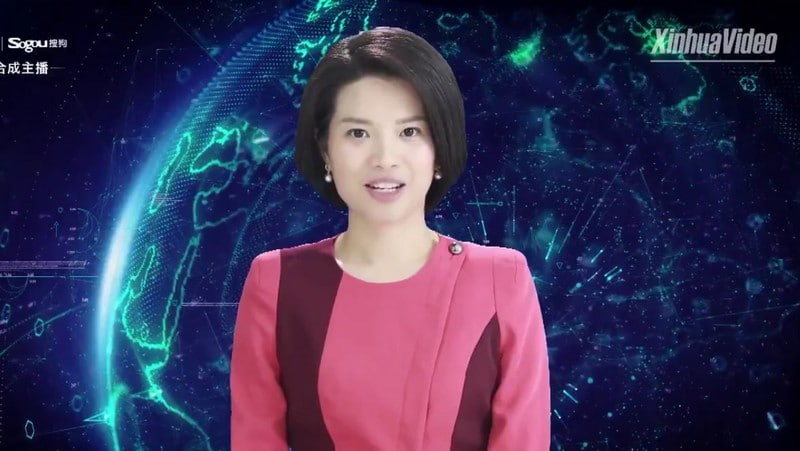 Xinhua's First Female AI News Anchor Goes Live