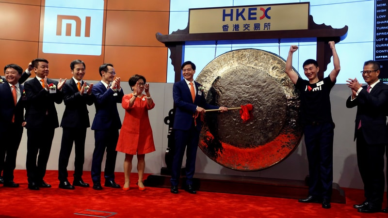 Xiaomi's Weak Hong Kong Debut Casts Shadow on Tech Listings