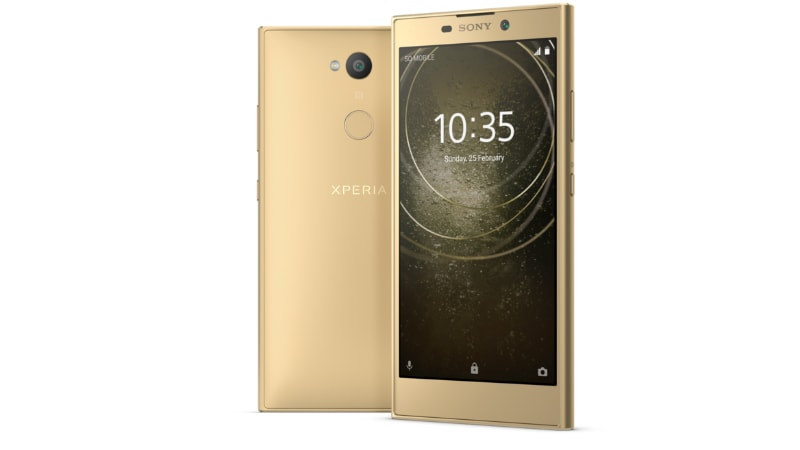 Sony Xperia L2 With Wide Angle Selfie Camera Launched at CES 2018 Specifications Features