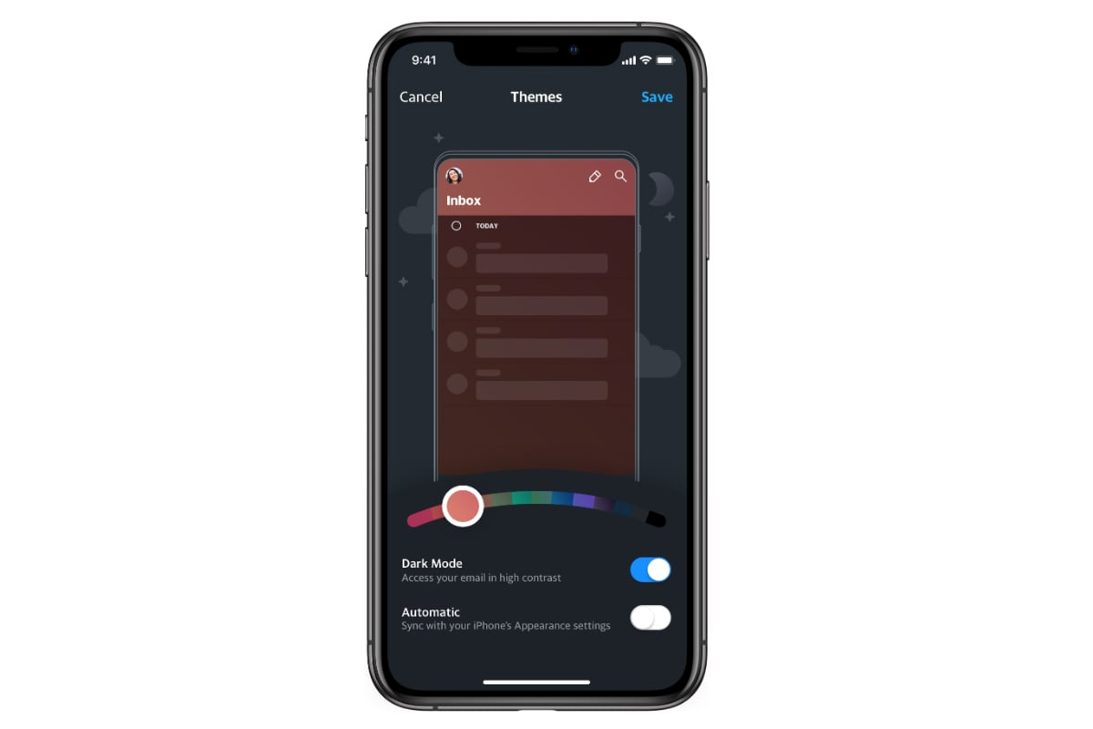 yahoo mail app ios dark mode Yahoo Mail