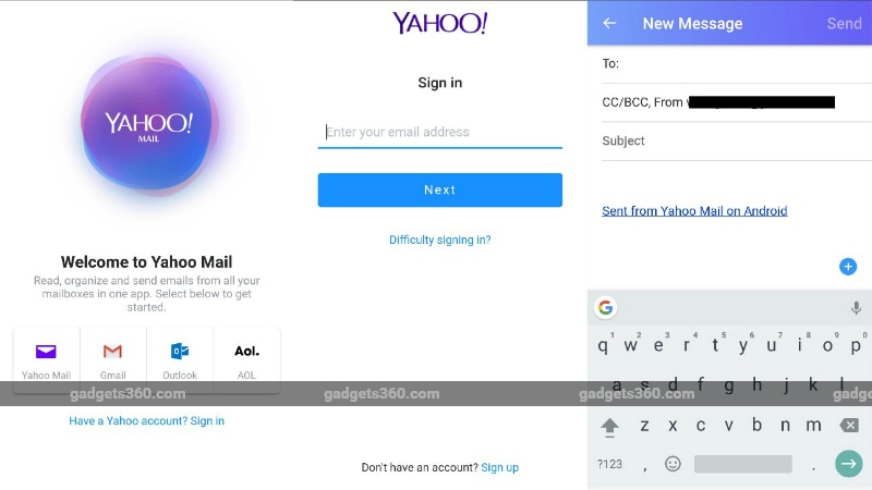 Yahoo Mail Go App for Entry-Level Smartphones Launched, Mobile Web Version Gets New Features
