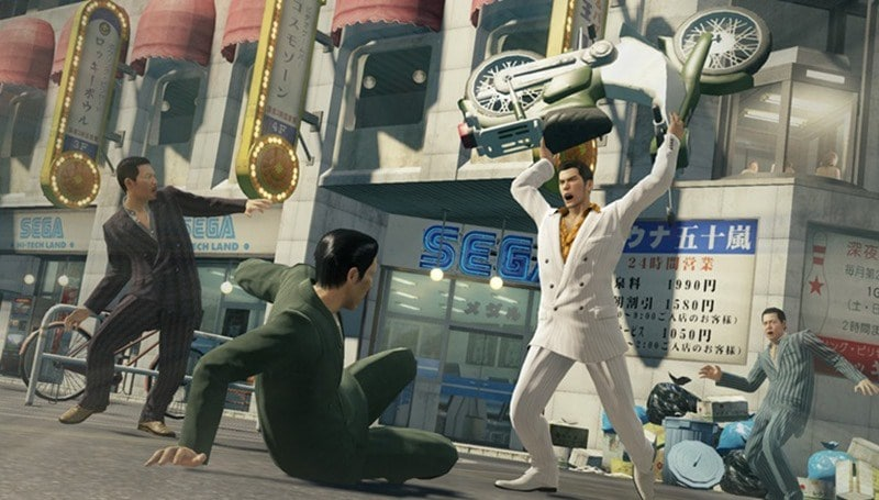 yakuza 0 sega s gangster paradise could be the first must have game