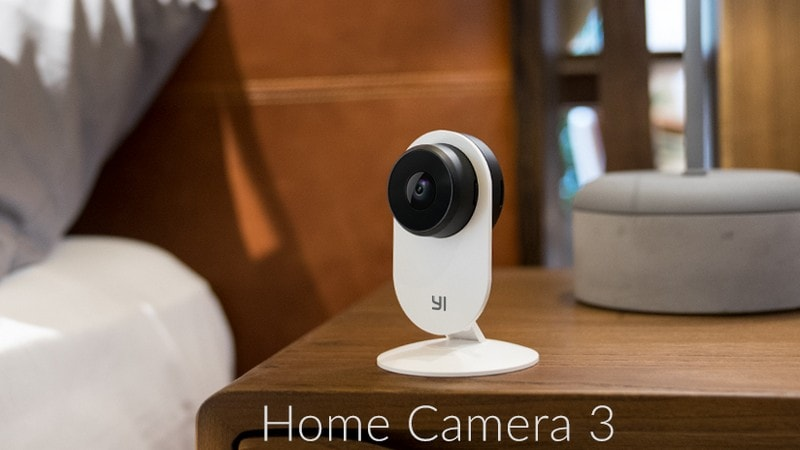 CES 2019: Xiaomi-Backed Yi Home Camera 3 With AI-Based Notifications, Smart Detection Launched