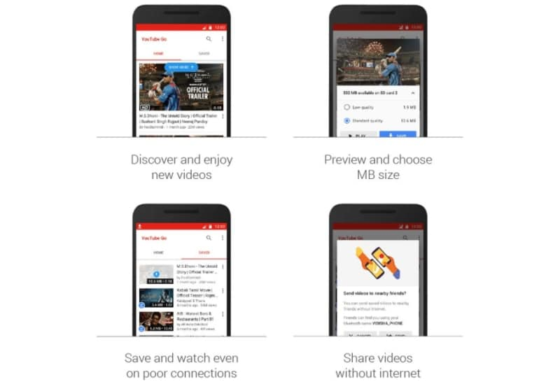 YouTube Go is Google's Offline-First YouTube App