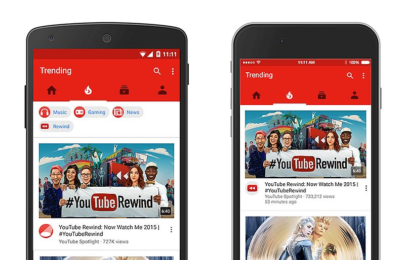 YouTube for Android Update Brings New Navigation Bar and Minor Refreshes