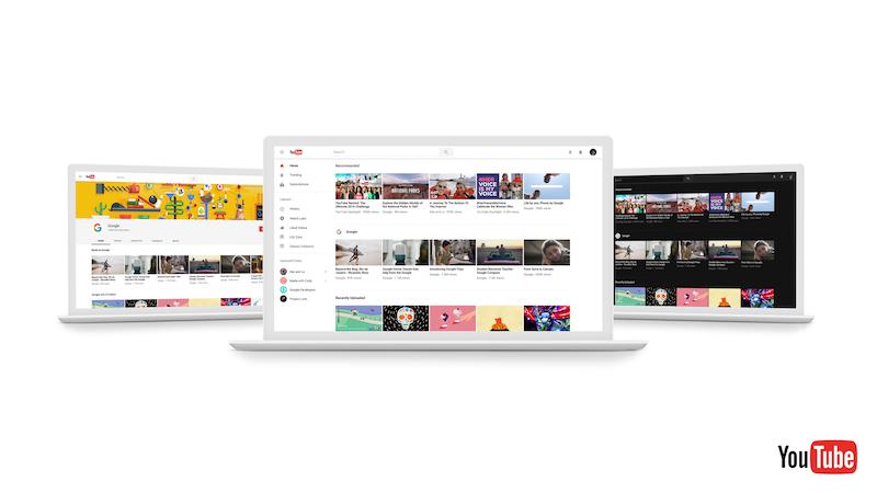 YouTube Desktop Redesign Brings Material Design, Dark Theme, and More