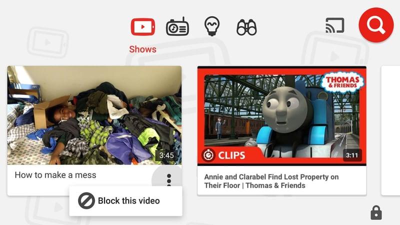YouTube Kids Now Lets Parents Block Videos, Channels