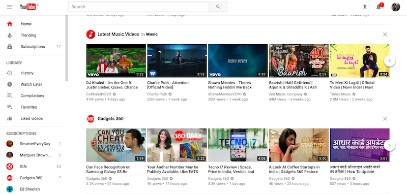 Youtube K Design | Youtube Desktop Redesign Brings Material Design Dark Theme And
