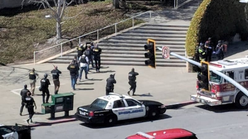 Woman Shoots 3 at YouTube Headquarters in California, Then Kills Herself
