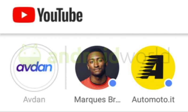 YouTube Spotted Testing Stories Tab, Gesture-Based Video Interface