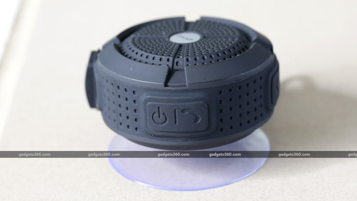 zaap aqua suction cup ndtv Zaap Aqua Bluetooth Speaker Review